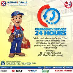 Pintu Atau Jendela Anda Bermasalah ??? Hubungi Kami Untuk Pelayanan Tercepat Dan Terbaik Dari Kami 24 Jam Non Stop  Teknisi Kami Akan Selalu Melayani Anda Dalam Situasi Dan Keadaan Apapun….  Informasi Hub. : Ibu Tika 0812 8567 7070 ( WA / Telpon / SMS ) 0819 0506 7171 ( Telpon / SMS )  Email : digitalmarketing@kenaridjaja.co.id  [ K E N A R I D J A J A ] PELOPOR PERLENGKAPAN PINTU DAN JENDELA SEJAK TAHUN 1965  SHOWROOM :  JAKARTA & TANGERANG 1 Graha Mas Kebun Jeruk Blo..
