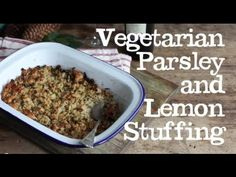 Parsley and Lemon Stuffing from Abel & Cole (+playlist)