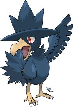 Murkrow by on DeviantArt Pokemon Craft, Pokemon Games, Pokemon Fan, Dark Type Pokemon, Flying Type Pokemon, Pokemon Guide, Pokemon Original, Pokemon Rayquaza, Pokemon Team