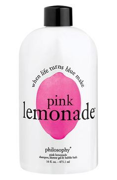 Pink Lemonade Shampoo, Shower Gel, and Bubble Bath at Philosophy.
