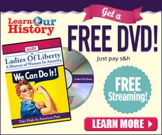 FREE Animated DVD for kids, plus FREE Gifts! Fun way for kids to learn U.S. History!