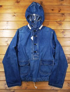 To know more about US NAVY Denim Utility Parka, visit Sumally, a social network that gathers together all the wanted things in the world! Featuring over 267 other US NAVY items too! Army Clothes, Vintage Windbreaker, Work Jackets, Denim Jacket Men, Best Wear, Military Fashion, Military Clothing, Denim Fashion, Outerwear Jackets