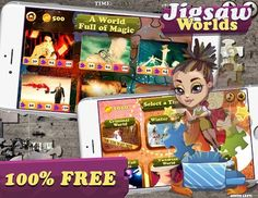 Download Jigsaw Worlds FREE puzzle now to play hundreds of jigsaw puzzles https://play.google.com/store/apps/details?id=com.RanchoGrande.JigsawWorlds