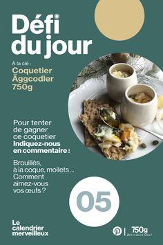 Merci à tous pour vos participations et félicitations à @perrinelioret qui remporte le lot ! Tableware, Egg Coddler, Dutch Oven, Advent Calendar, Thanks, Dinnerware, Tablewares, Place Settings