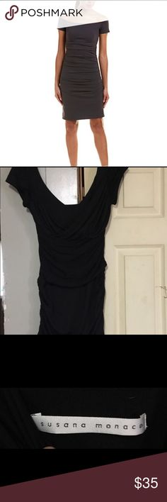 Shop Women's Susana Monaco Black size M Mini at a discounted price at Poshmark. Description: Susana Monaco Black Rouched Off the Shoulder Dress. Off The Shoulder, Shoulder Dress, Best Deals, Medium, Mini, Womens Fashion, Closet, Black, Dresses