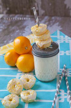 Meyer Lemon Mini Doughnuts | http://whipperberry.com/2012/02/meyer-lemon-doughnuts-recipe.html#