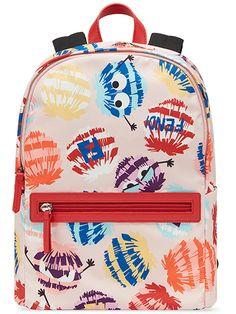 Fendi Kids Monster Backpack - Farfetch 9dfa71bdd9b30
