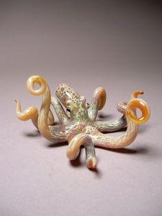 Gorgeous Blown-Glass Octopus