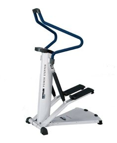 $1,089.95 IDEAL FOR THE STAMINA WORKOUT. The ergonomically shaped handlebar guarantees safe exercising in different positions. Dial adjustable resistance on the hydraulic cylinders (12 levels) challenges and strengthens the heart and circulation system as well as the legs and buttocks. The easy to operate computer shows all the necessary data at a glance. New Trainers, Hydraulic Cylinder, Workout Machines, Exercise, Fat Fast, Fitness, Sports, Challenges, Outdoors