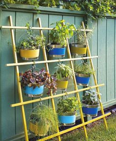 42 Ideas for small gardens – Balconies