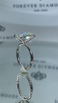 Most Beautiful Engagement Rings, Dream Engagement Rings, Beautiful Rings, Diamond Wedding Bands, Diamond Rings, Diamond Jewelry, Wedding Jewelry, Wedding Rings, Handmade Engagement Rings