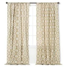 ThresholdTM Farrah Southwest Curtain Panel Target