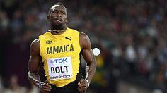 Bolt consiguió clasificar en las semifinales del Mundial de Londres #Atletismo #Deportes