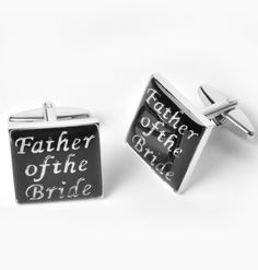 Father of the Bride Cufflinks - Great gift for Dad for Weddings!