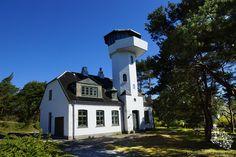 Lighthouse Dueodde South/ Leuchtturm Dueodde Süd - Bornholm #dueoddefyr #dueodde…