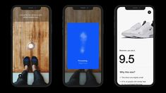 If you don't know which size shoe to buy when ordering sneakers online - Nike is introducing a feature to its app that lets you scan your feet using your smartphone camera to determine what size shoe will be the perfect fit. Nike Cortez, Ipod Touch, Nike Font, Nike Retail, Disney Cute, Nike Design, Ux Design, Design Trends, Smartphone