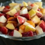 Fruit Salad with Creamy Glazed Dressing {My Favorite Fruit Salad}