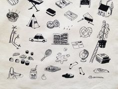 Hang out with You Tote Bag by Juliapott on Etsy
