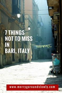 7 Best Things to Do in Bari, Italy. Explore the town of Bari in Puglia (Apulia), Italy. Taste fresh oysters, walk along the sea, go to the beach and take a ride on a ferris wheel. #italy #italianfood #bari