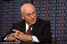 Fight: Colonel Lawrence Wilkerson told ABC news Cheney, 'Was president for all practical purposes for the first term of the Bush administration,' adding, '[He] fears being tried as a war criminal'
