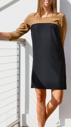 Amanda Uprichard color block dress!  mmmmmm...personal fav! :) $198