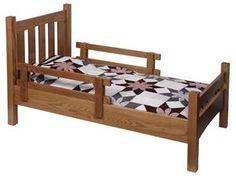 Amish Hardwood Childs Bed
