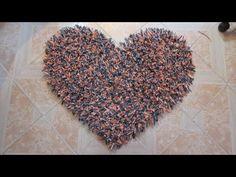 Alfombra decorativa en forma de corazón - Youtube Downloader mp3