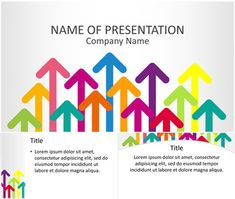 Templateswise feature a wide variety of free powerpoint colorful arrows powerpoint template toneelgroepblik Images