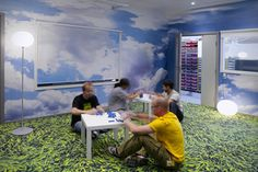 Image of Inside LEGO's Denmark Headquarters. Related to CG because it is now Legoland.