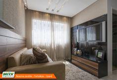 Apartamento decorado 2 quartos do Reserva Jardim no bairro Dias Macedo - Fortaleza - CE - MRV Engenharia - MRV Engenharia - Sala de Estar.