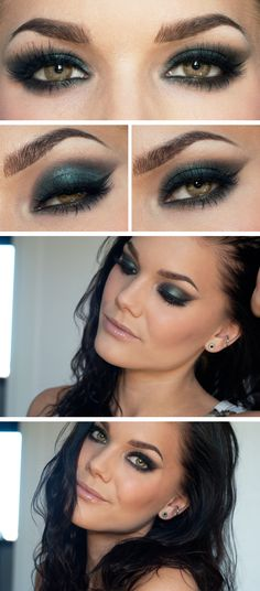 Green eyes make up ★