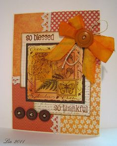 Papercrafts Connection November Gallery challenge | by quilterlin
