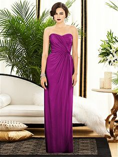 Dessy Collection Style 2882 http://www.dessy.com/dresses/bridesmaid/2882/ Color: Persian Plum