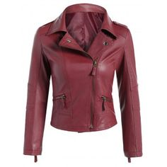 SHARE & Get it FREE   Faux Leather Asymmetric Zip Biker JacketFor Fashion Lovers only:80,000+ Items·FREE SHIPPING Join Dresslily: Get YOUR $50 NOW!