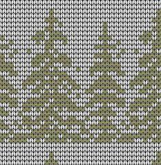 Knitted Mittens Pattern, Fair Isle Knitting Patterns, Knit Mittens, Knitting Charts, Loom Knitting, Knitting Stitches, Knitted Hats, Crochet Patterns, Tree Patterns