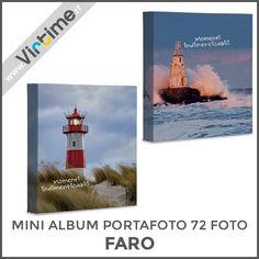 "Mini Album portafoto 72 foto tasche formato 13 x 18 cm. modello ""FARO"". Disponibile in 4 versioni. Confezione: termoretraibile Dimensioni: 15,5 x 19,5 cm Ref.: S36211/05 #Virtime #virtimeclock #virtimehome #milan #italy #italiandesign #interiordesign #decoring #italianfurniture #house #homeart #photography #photobook #photoshoot #photographylovers #pictures #quality #fotografia #linkinbio #photobooth #landscape #nature #flowers #heart #cover #lighthouse"