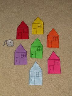 Little mouse, little mouse...Are you under the red house? Find the hidden mouse and learn colors...Preschool!