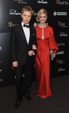 Freddie and Emilia Fox at the BAFTA Film Gala Dinner