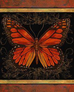 Butterfly Treasure-La Belle Painting