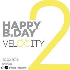 #Repost @studio_velocity  Its time to... CELEBRATE! No início de 2014 abrimos as portas do primeiro Studio Velocity no Itaim Bibi e em pouco tempo passamos a contagiar muita gente com a energia de nossas #cardioparties. Hoje após 2 ANOS intensamente marcados por subidas sprints flexões tap backs MUITO suor MUITOS sorrisos e MUITA música vemos que estamos no caminho certo pois a #VelocityCommunity não para de crescer!  Temos incontáveis razões para comemorar mas vocês Velociclistas são sem…