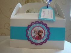frozen favor boxes | Frozen personalized Favor, Treat, Goodie box- set of 12. birthday ...