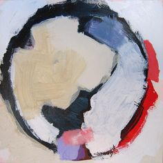 """""""Fourage 2"""" by Claire Desjardins - 24""""x24"""" - Acrylics on canvas. Private collection."""