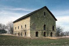 Few barns in Nebraska Territory were as substantial as the Elijah Filley Stone Barn, built in 1874 in Gage County. It is now on the National Register of Historic Places