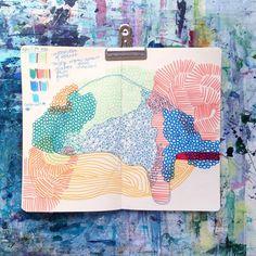 bianca bello • artist • boston (@_wildhumm) • Instagram #art #journal #sketchbook #moleskine