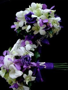 Calla lilly Bouquet  Handle Detail