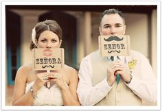 What a fun and creative photo opportunity idea for this mexican-inspired La Quinta wedding! Design by Alchemy Fine Events