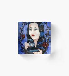 Normal Is An Illusion Acrylic Block Halloween Celebration, Illusions, Fantasy Art, Wall Art, Cool Stuff, Illustration, Artwork, Prints, Poster