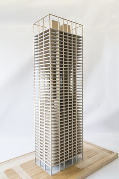 Timber Tower Research Project, a timber skyscraper concept