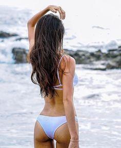 Salty lashes and sandy skin. Absolutely lovin' this feeling!! #SORAKINI #SORAKINIBABES #beach #beachlife #bikini