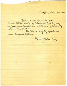 Declaration of Edith Frank's death.